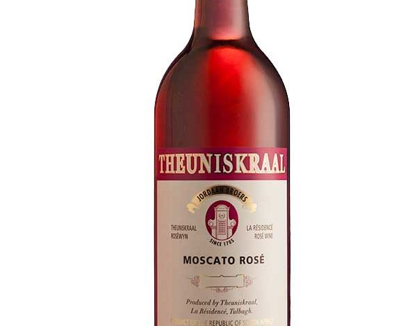 Theuniskraal Moscato Rose 2019