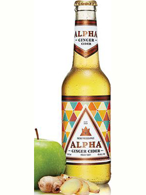 Devil's Peak Alpha Ginger Cider 340ml