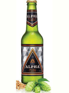 Devil's Peak Alpha Lager 340ml