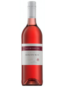 Theuniskraal Moscato Rose 2016