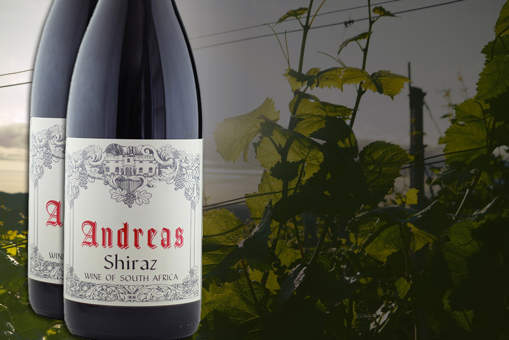 Andreas <br /> Shiraz 2014