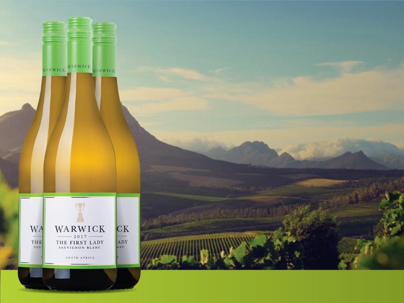 warwick<br />first lady<br />sauvignon blanc 2017