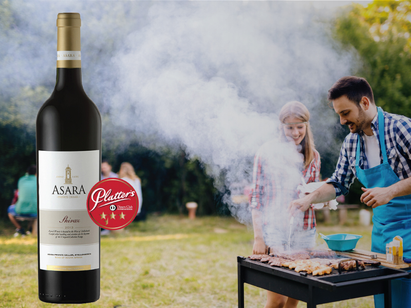 celebrate national<br />braai-day with<br /><br />asara vineyard collection<br />shiraz 2013