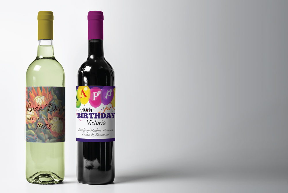 Design your own wine label