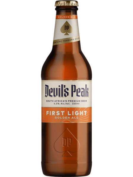 Devil's Peak First Light Golden Ale 340ml