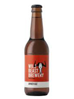 Wild Beast Amber Ale 340ml by Remhoogte Estate