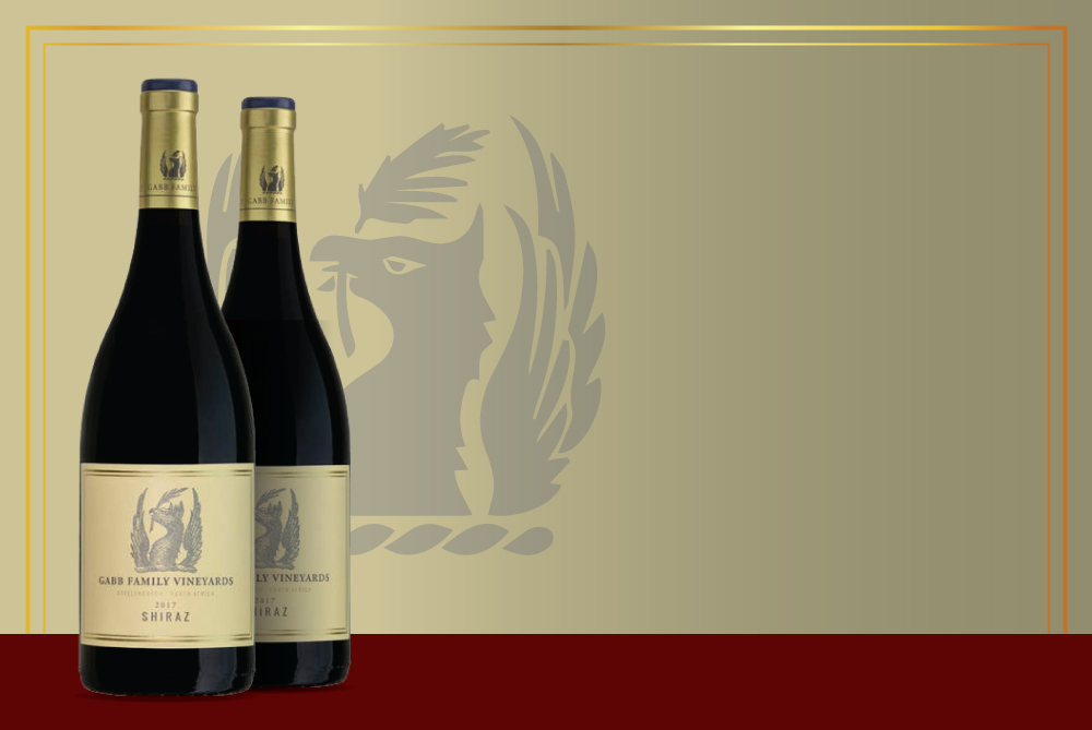 Gabb Family<br />Shiraz 2017<br />by Journey's End