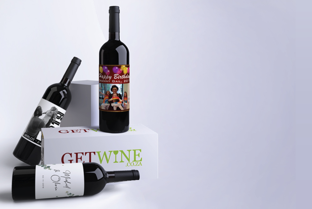 Create your own special wine label